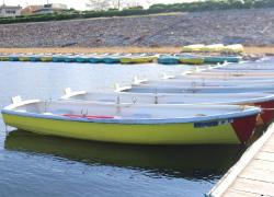 手漕ぎボート